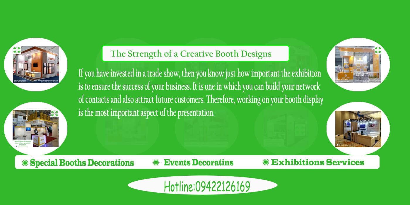 Booth Designs & Decorations in Myanmar, Creative Events Agency In Myanmar, Events Management Company In Myanmar